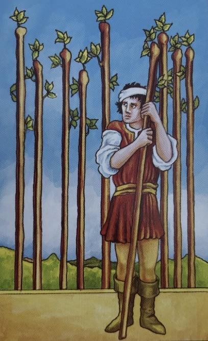 minor arcana nine of wands